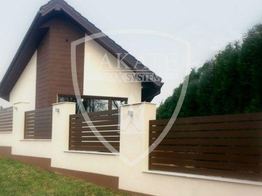 Moderne Aluminium Zaun