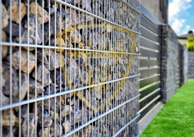Gabion Zäune – Alu Fence Optimal