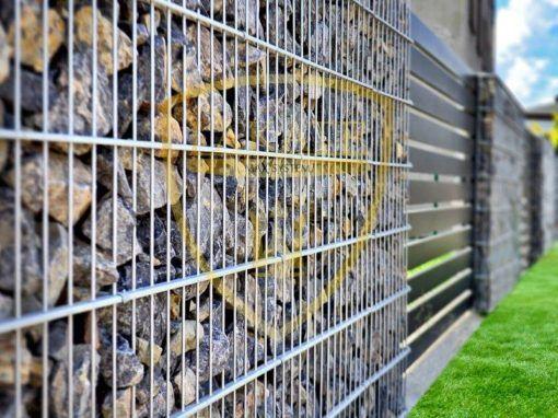 Gabion zäune – Alu Fence Opti