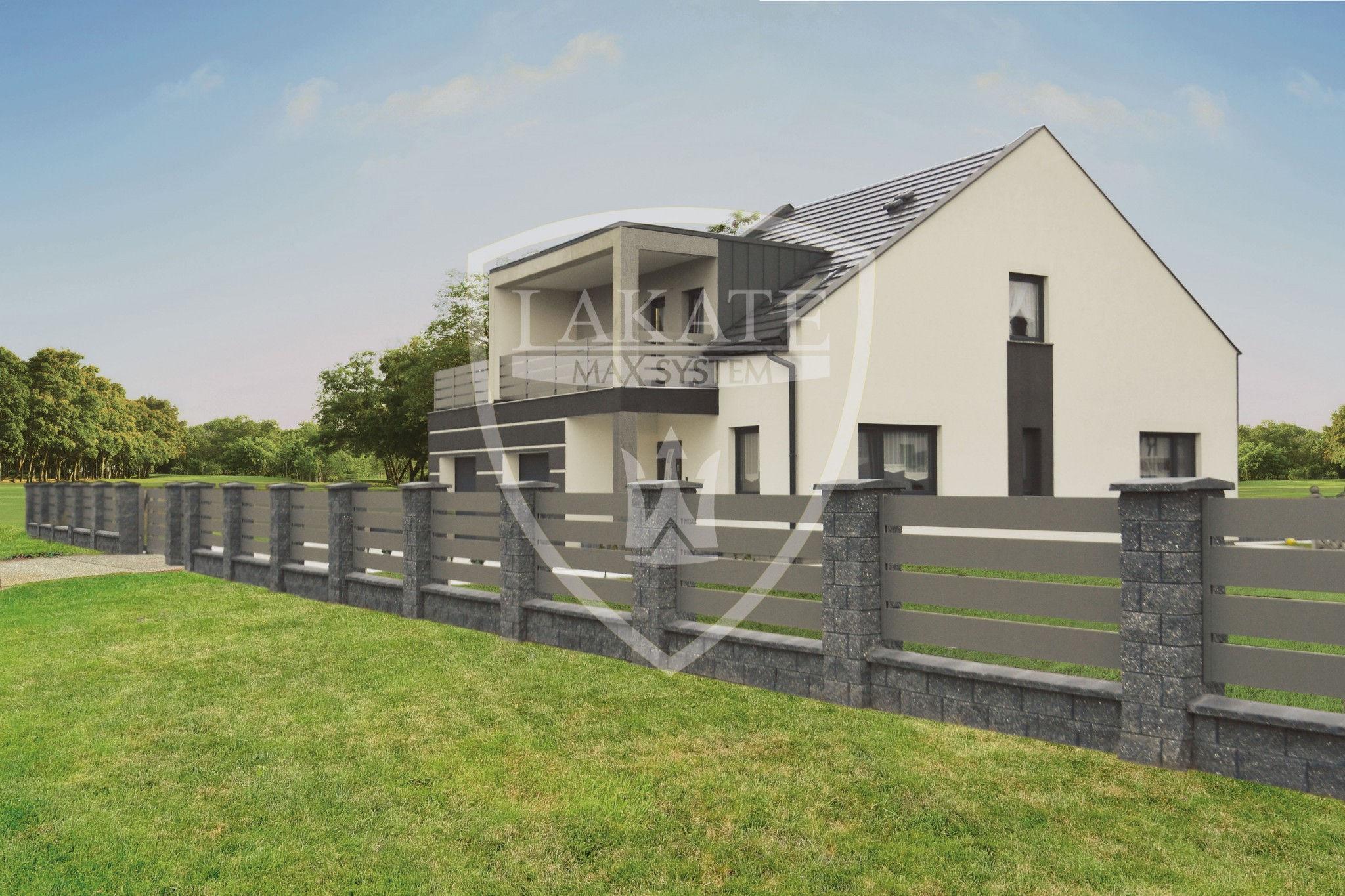 Ogrodzenie Alu Fence, balustrady aluminiowe