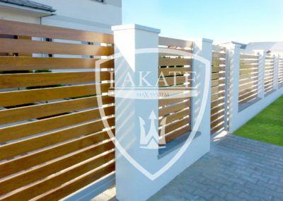 Alu Wood Fence – Moderner Aluminiumzaun